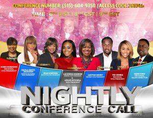 Nightly Overview Call @ Phone Conference