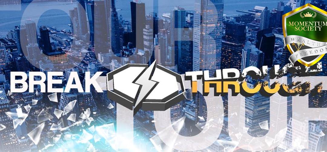 Breakthrough Tour Coming to a City Near You!